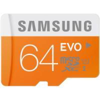 SAMSUNG Evo MicroSDHC 64GB